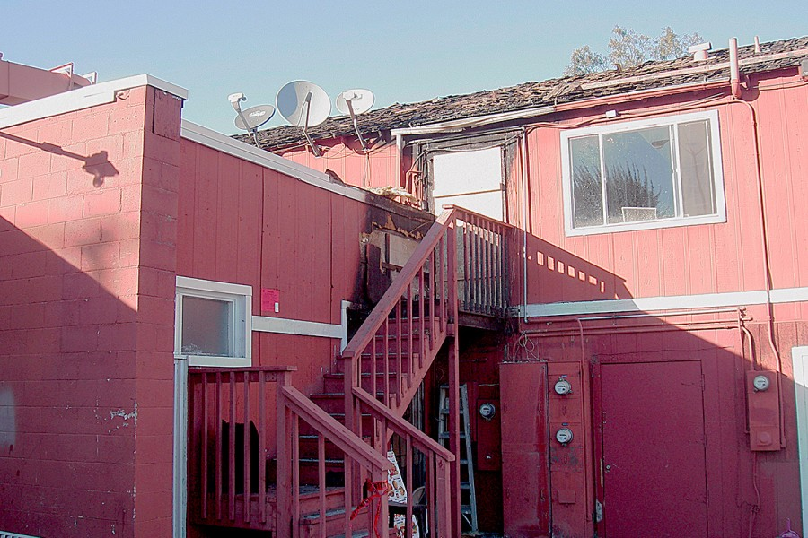 Commercial Building Fire – Corona