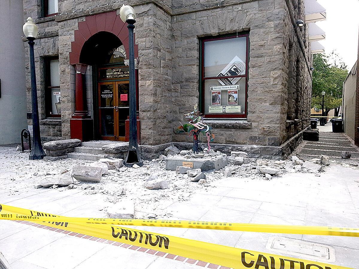 Earthquake loss in Napa Valley