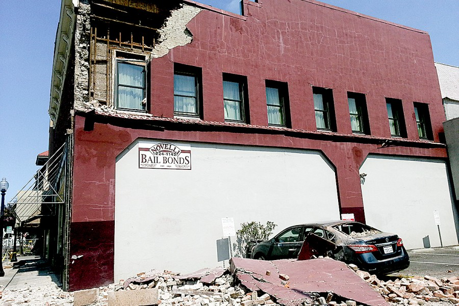 Earthquake Loss – Napa Valley