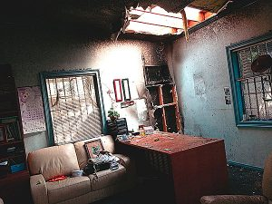 Church fire loss in LA
