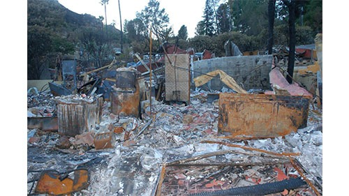 Residential Fire Loss – Los Angeles