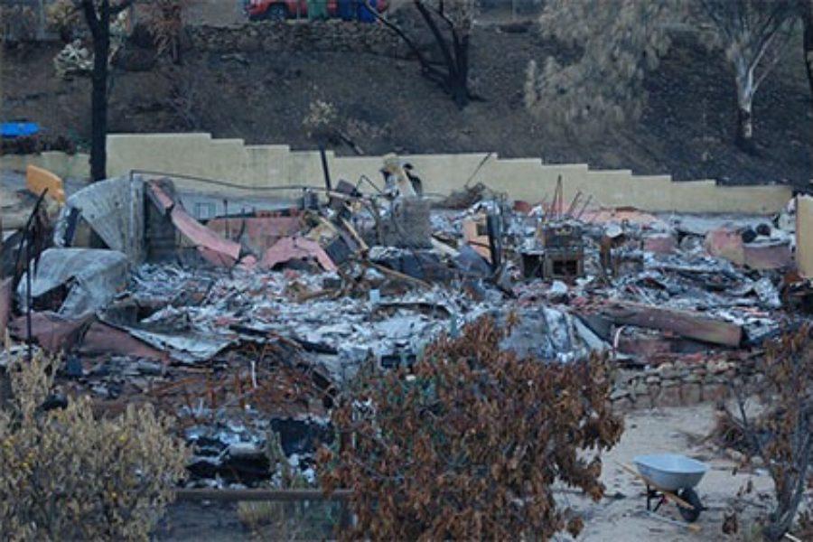 Burnt Home – Malibu